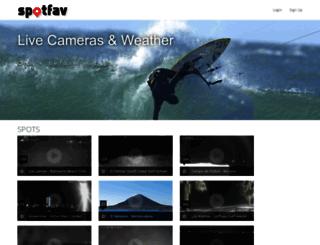 spotfav.com screenshot