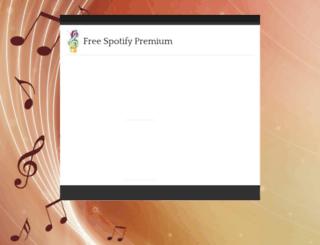 spotifycodegenerator.cabanova.com screenshot
