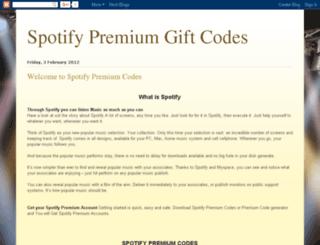 spotifycodes.blogspot.in screenshot