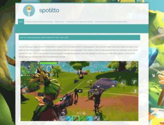 spotitto.com screenshot