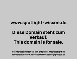 spotlight-wissen.de screenshot