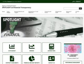 spotlight.vermont.gov screenshot