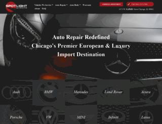spotlightautoservice.com screenshot
