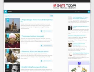spotlitetoday.blogspot.com screenshot