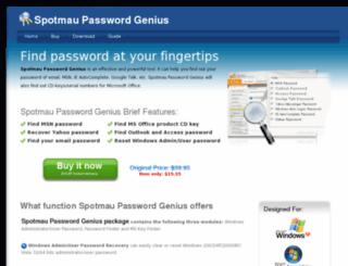 spotmau-password-genius.com-http.com screenshot
