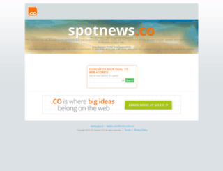 spotnews.co screenshot