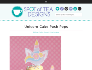 spotofteadesigns.com screenshot