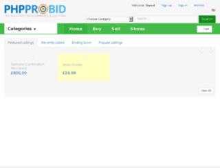 spotprijshandel.nl screenshot