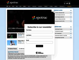 spotrac.com screenshot