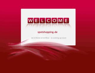 spotshopping.de screenshot
