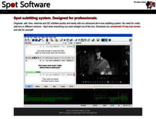 spotsoftware.nl screenshot