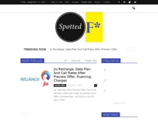 spottedf.com screenshot