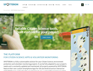spotteron.com screenshot