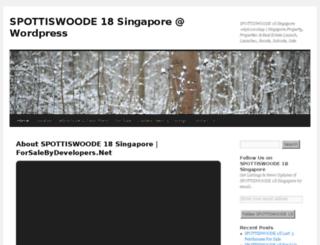 spottiswoode18singapore.wordpress.com screenshot