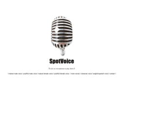 spotvoice.com screenshot