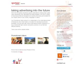 spotzerstudio.com screenshot