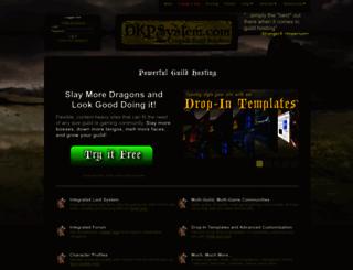 spqr.dkpsystem.com screenshot