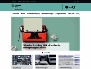 sprachenzentrum.unibas.ch screenshot