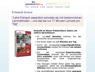 sprachkurs-polnisch-lernen.online-media-world24.de screenshot
