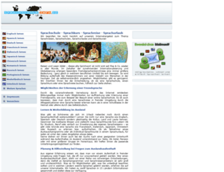 sprachschule-info.de screenshot