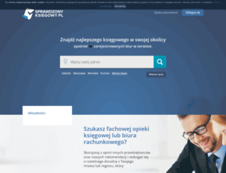 sprawdzonyksiegowy.pl screenshot