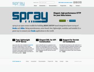 spray.io screenshot