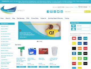 spraydirect.co.uk screenshot