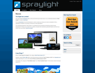 spraylight.at screenshot