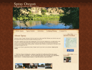sprayoregon.us screenshot