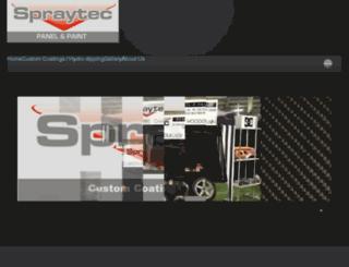 spraytecltd.co.nz screenshot