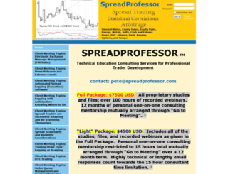 spreadprofessor.com screenshot