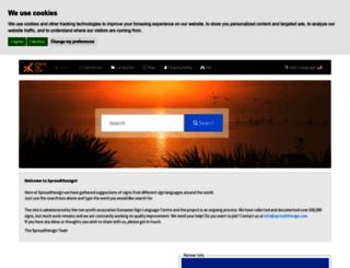 spreadthesign.com screenshot