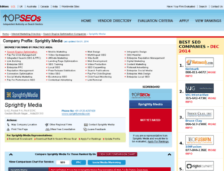 sprightly-media.topseos.com screenshot