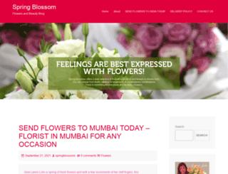 spring-blossoms.com screenshot