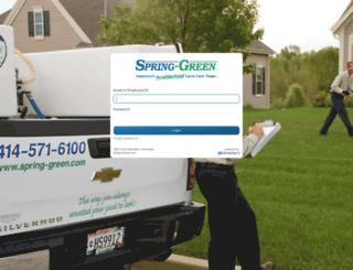 spring-green.smarteru.com screenshot