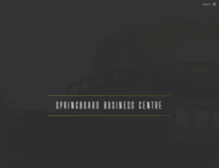 springboardbusinesscentre.co.uk screenshot
