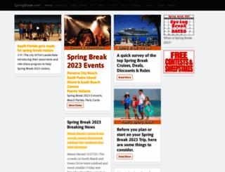 springbreak.com screenshot