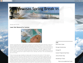 springbreaktexas.blogspot.com screenshot