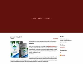 springcleaningridyourbodyoftoxin.weebly.com screenshot
