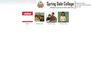springdalekpr.stucare.net screenshot