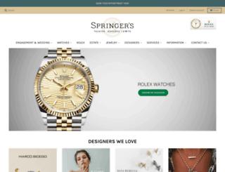springersjewelers.com screenshot