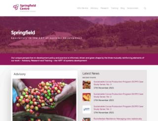 springfieldcentre.com screenshot