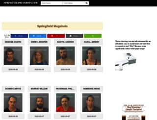 springfieldmugshots.com screenshot