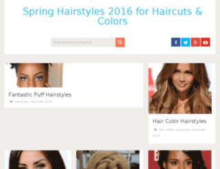 springhairstyles.net screenshot