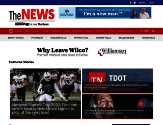 springhillhomepage.com screenshot
