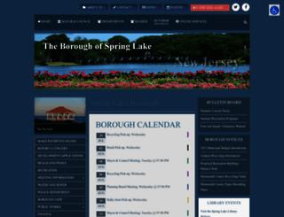 springlakeboro.org screenshot