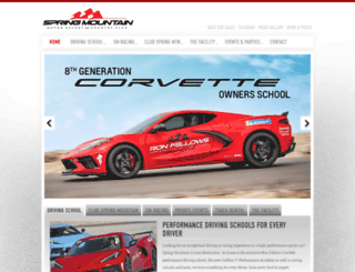 springmountainmotorsports.com screenshot