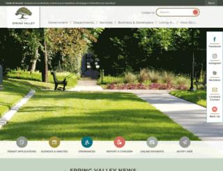 springvalleytx.com screenshot