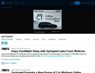 springwelin.livejournal.com screenshot