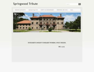 springwoodtribute.com screenshot